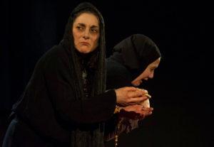 """2016 """"Atra Bile"""" di Laila Repol. Regia di Tiziana Bergamaschi."""
